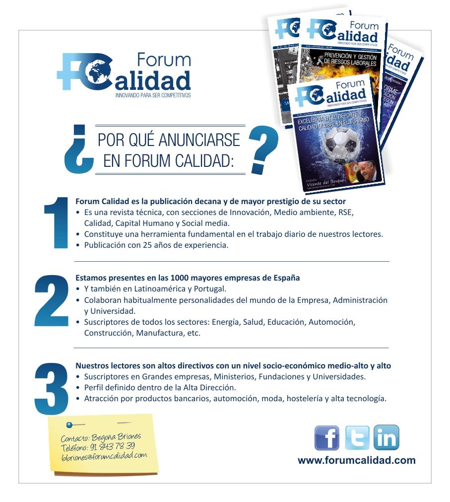 Publicidad Forum Calidad