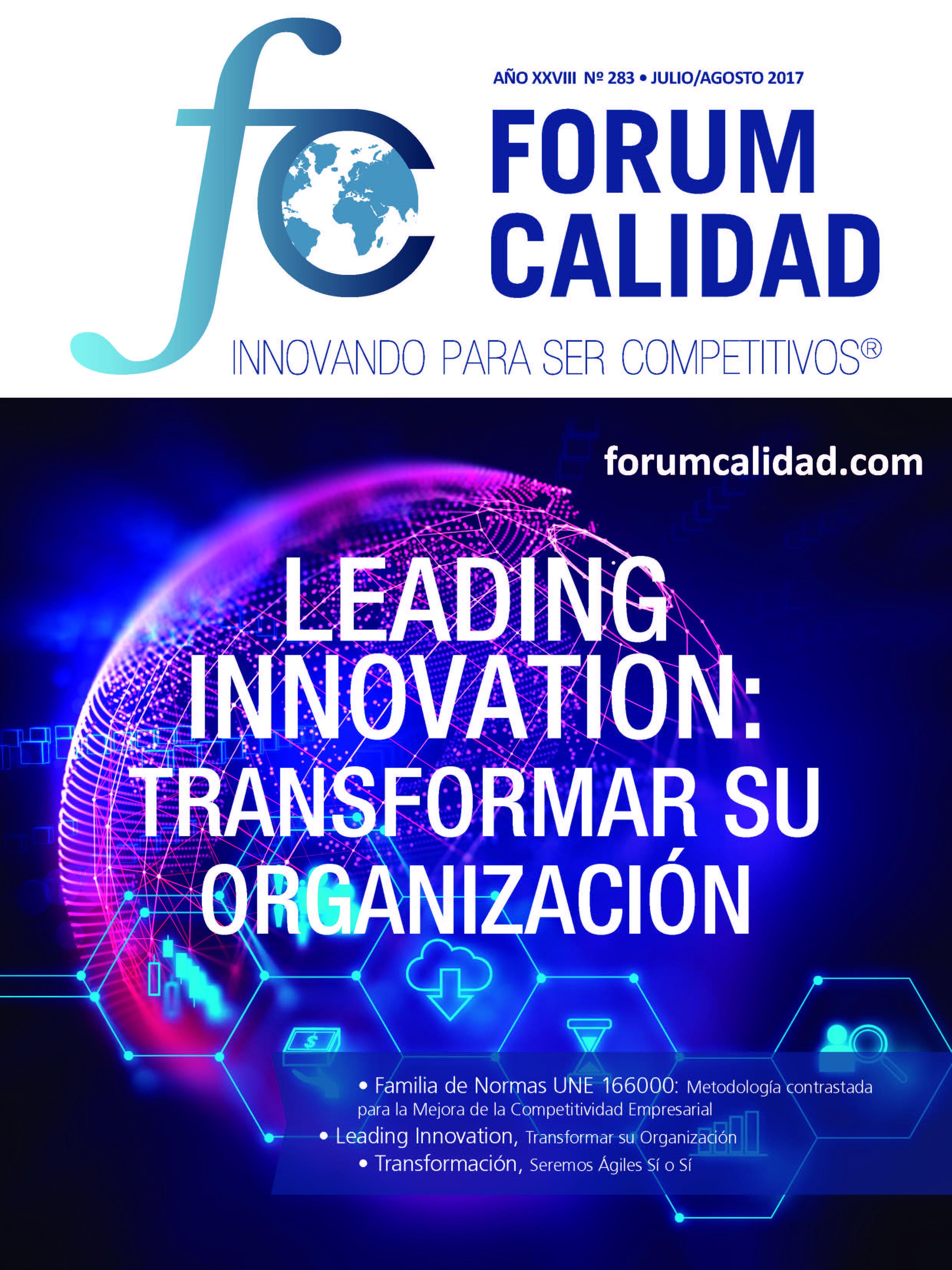 Forum Calidad nº 283 Julio/Agosto 2017