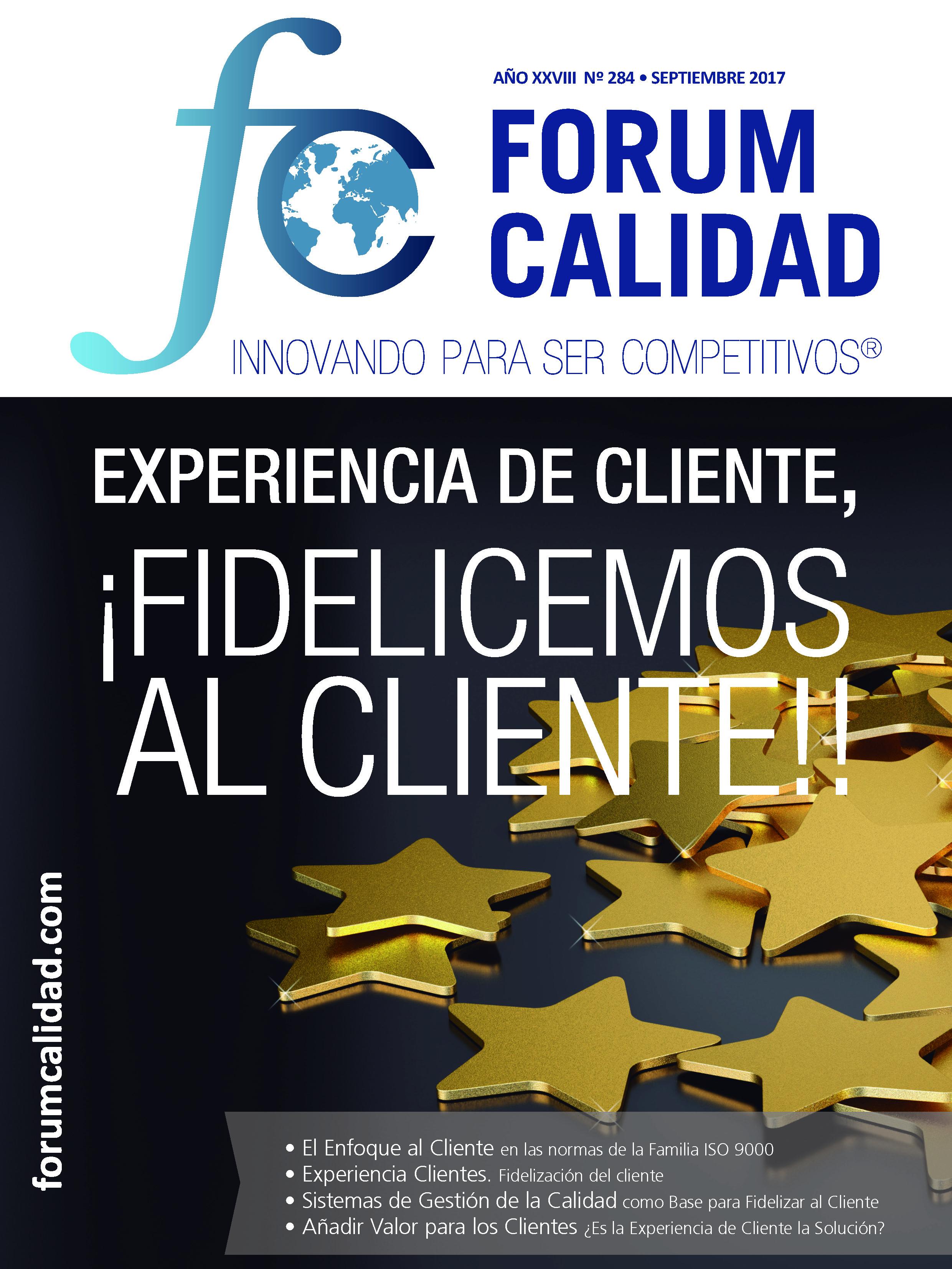 Forum Calidad nº 284 Septiembre 2017