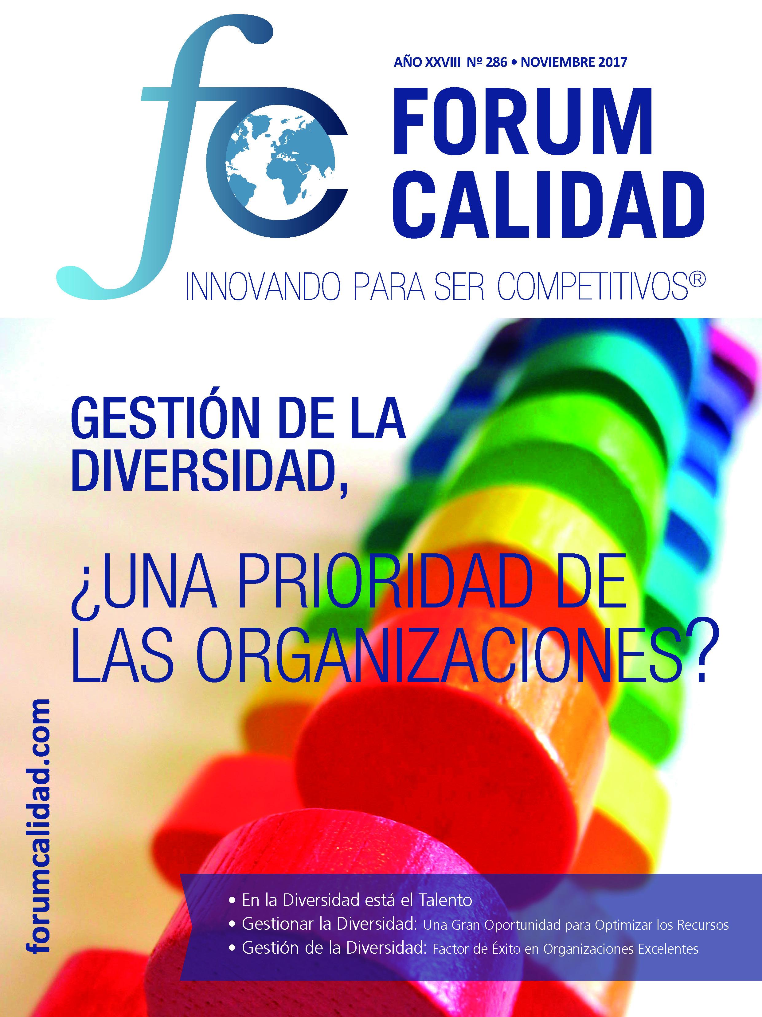 Forum Calidad nº 286 Noviembre 2017
