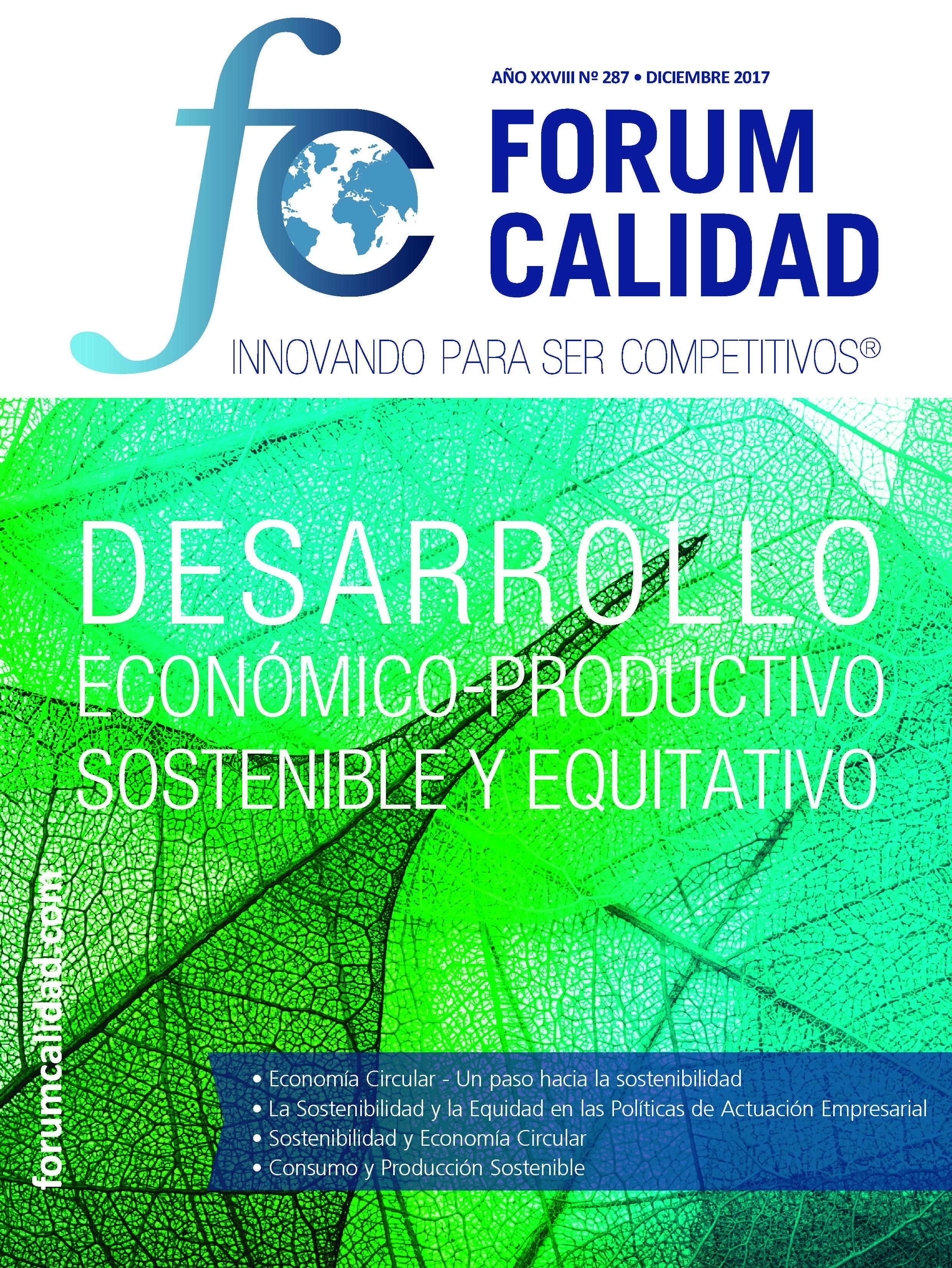 Forum Calidad nº 287 Diciembre 2017