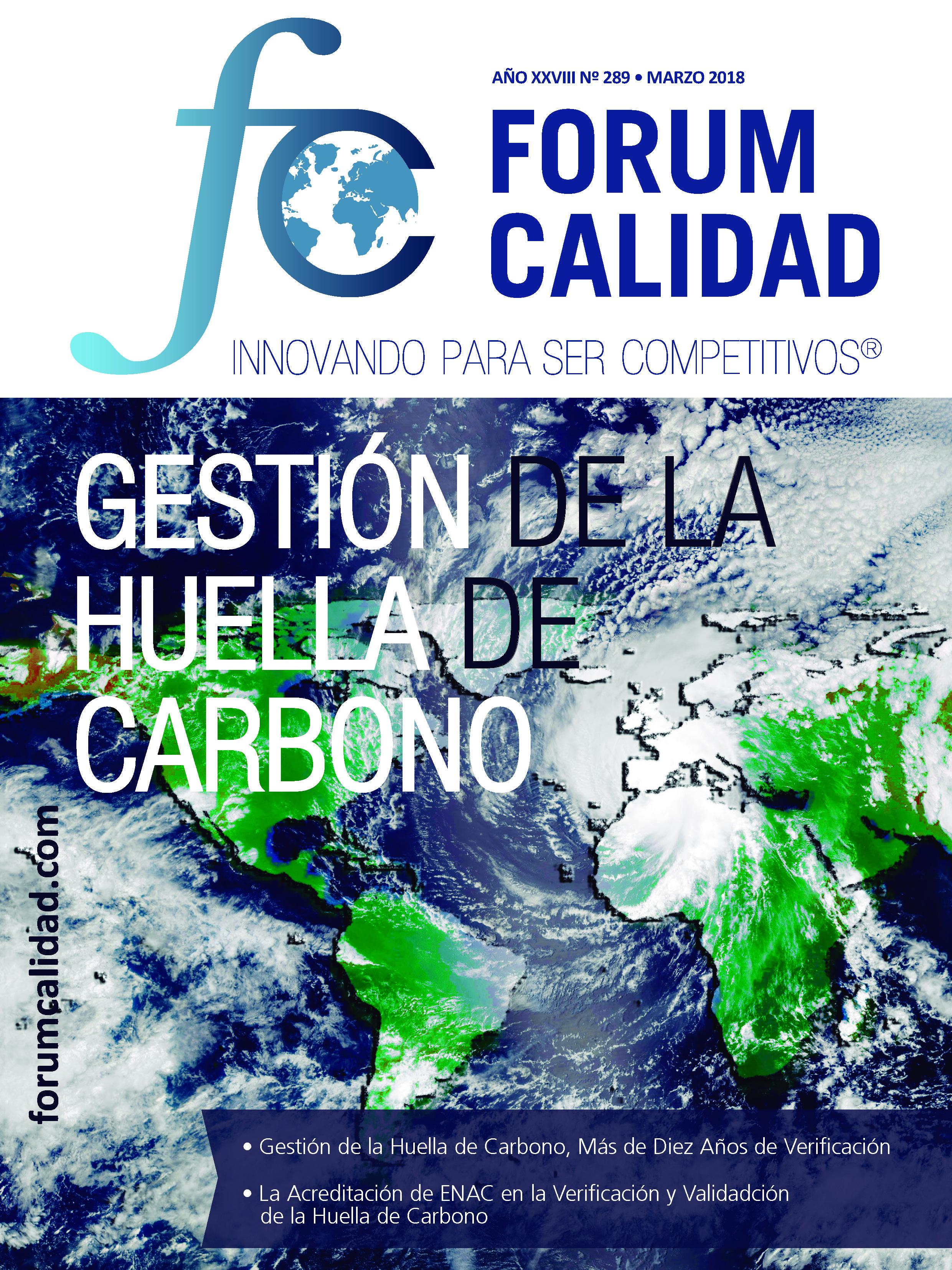 Forum Calidad nº 289 Marzo 2018