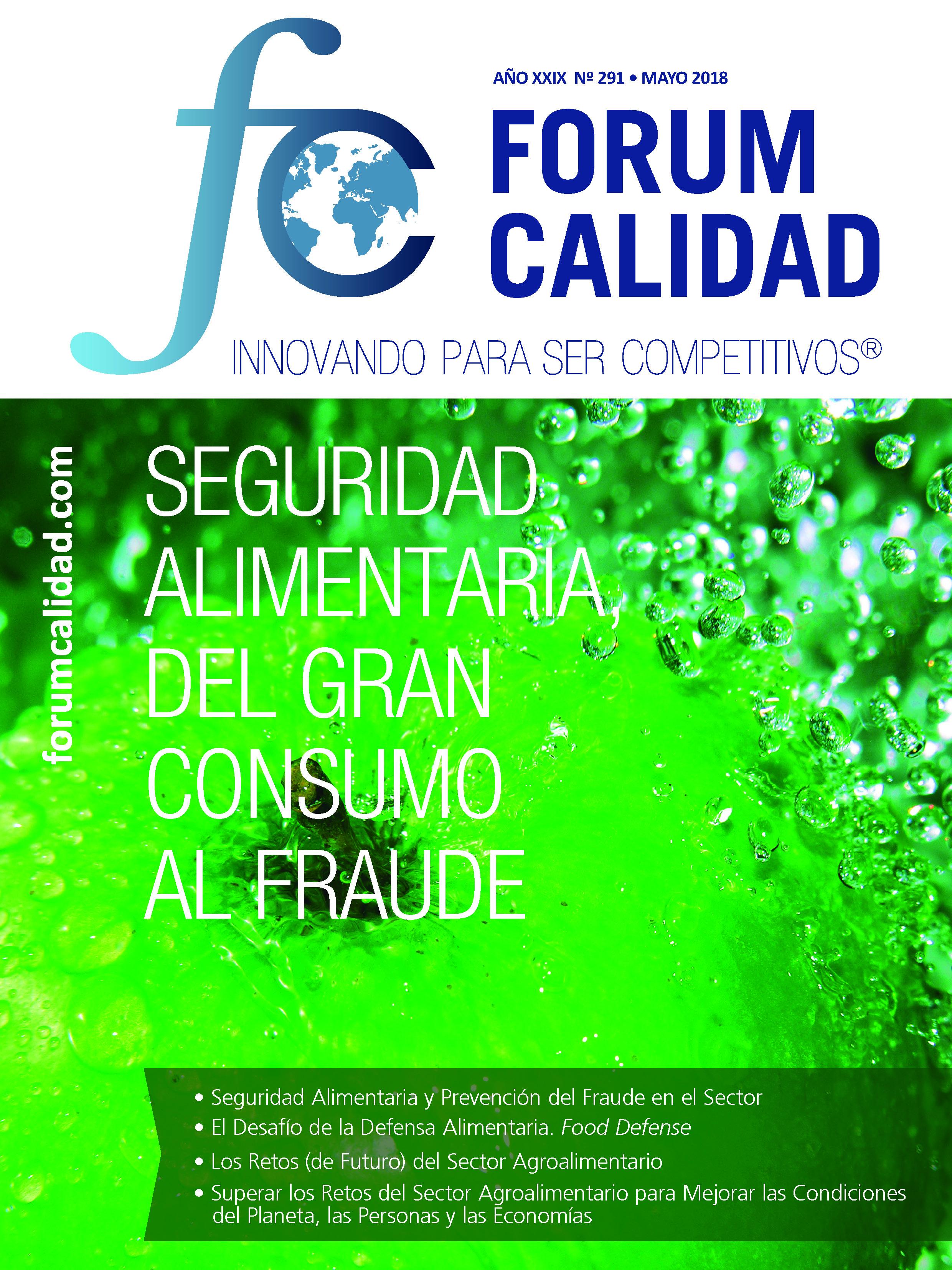 Forum Calidad nº 291 Mayo 2018