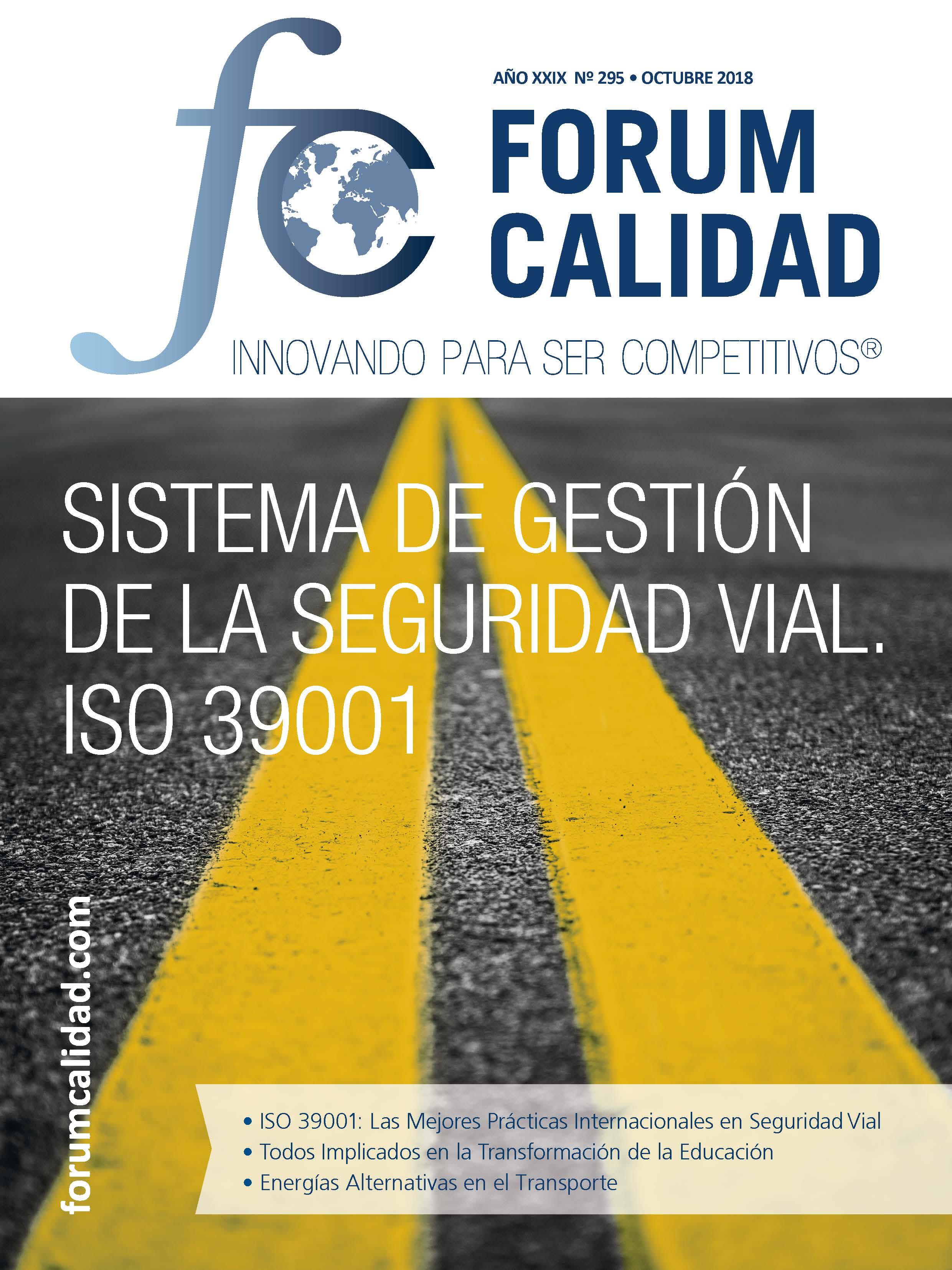 Forum Calidad nº 295 Octubre 2018
