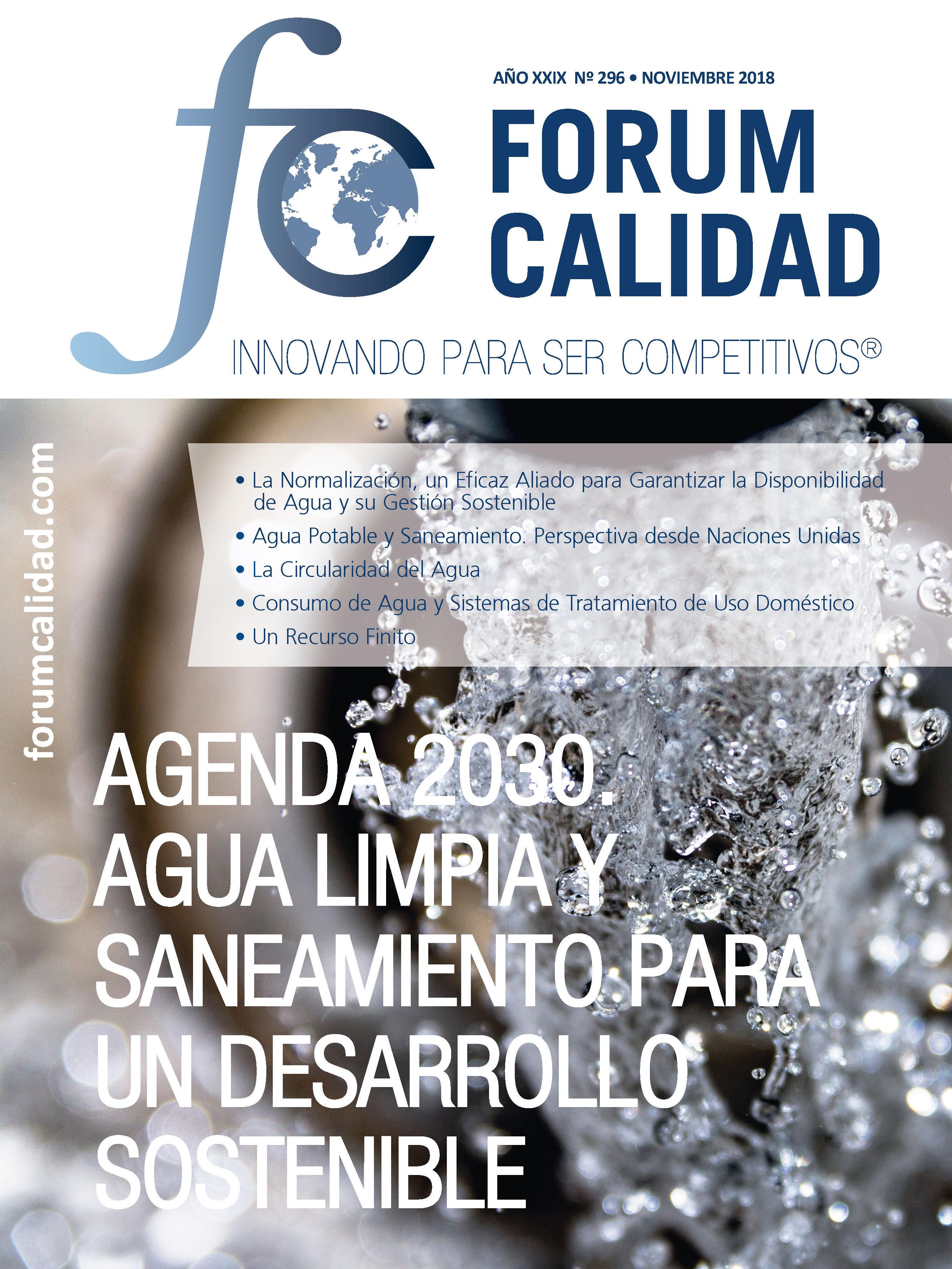 Forum Calidad nº 296 Noviembre 2018