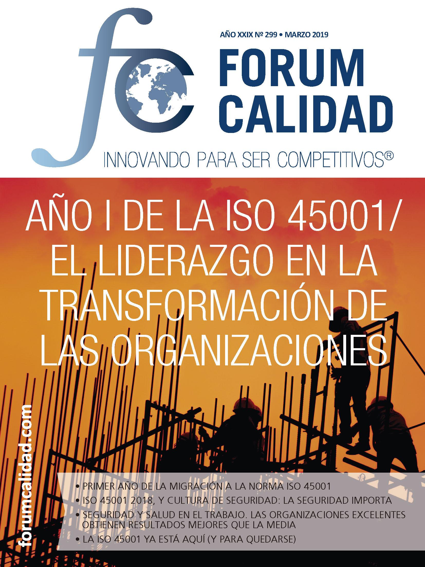Forum Calidad nº 299 Marzo 2019