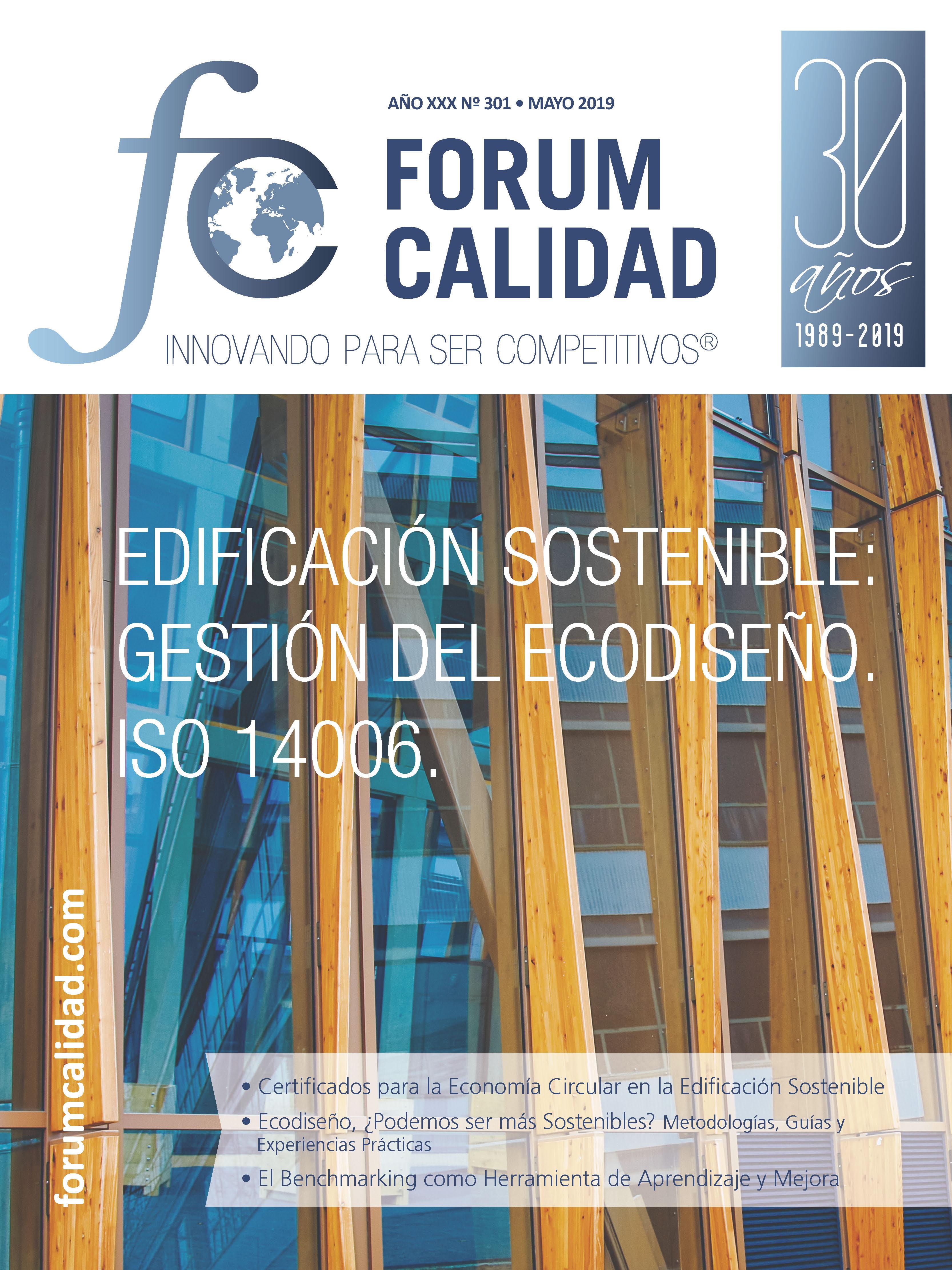 Forum Calidad nº 301 Mayo 2019