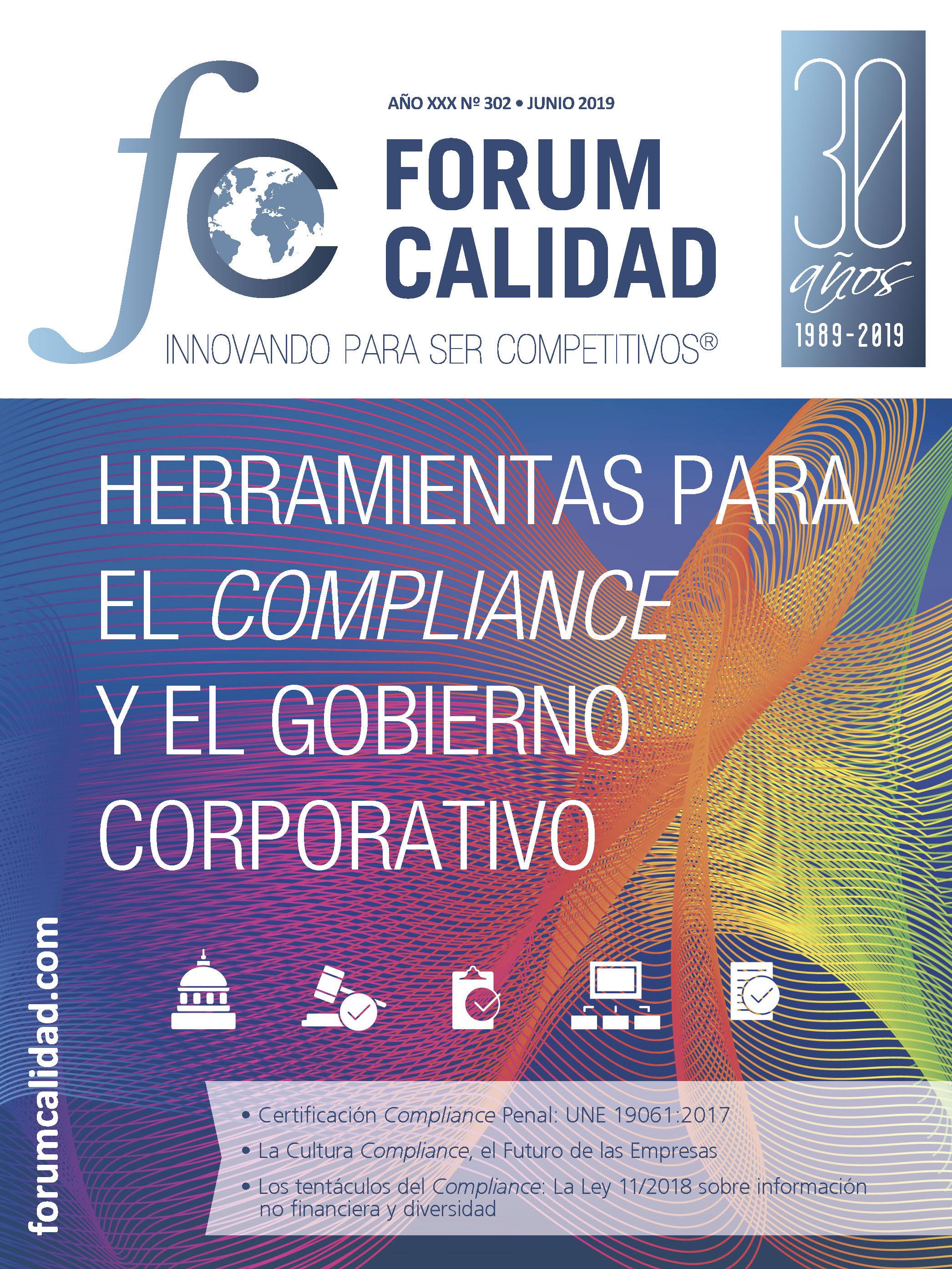 Forum Calidad nº 302 Junio 2019
