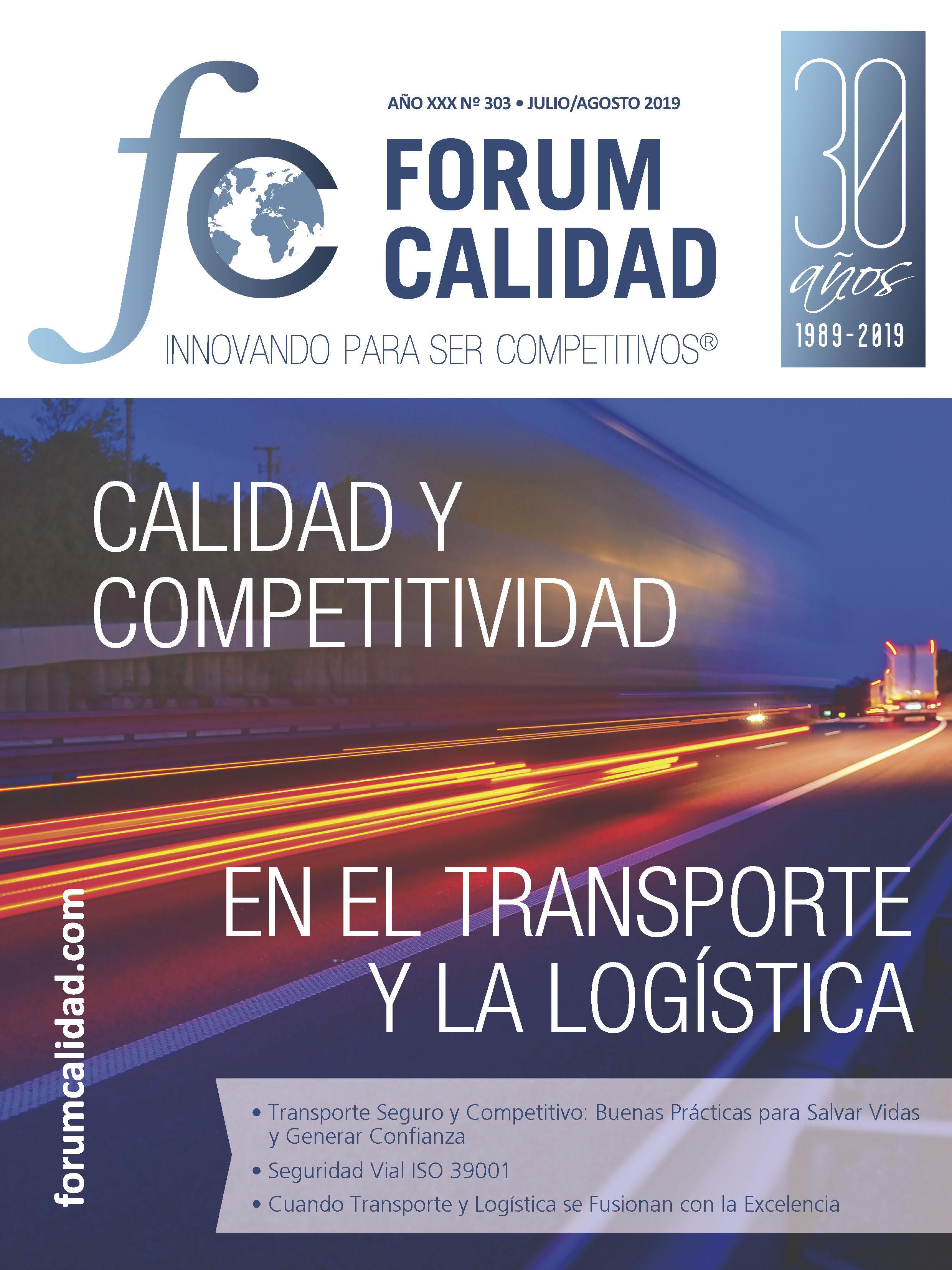 Forum Calidad nº 303 Julio/Agosto 2019