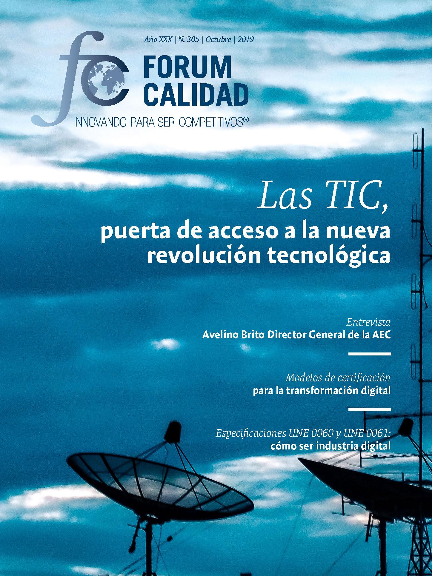 Forum Calidad nº 305 Octubre 2019