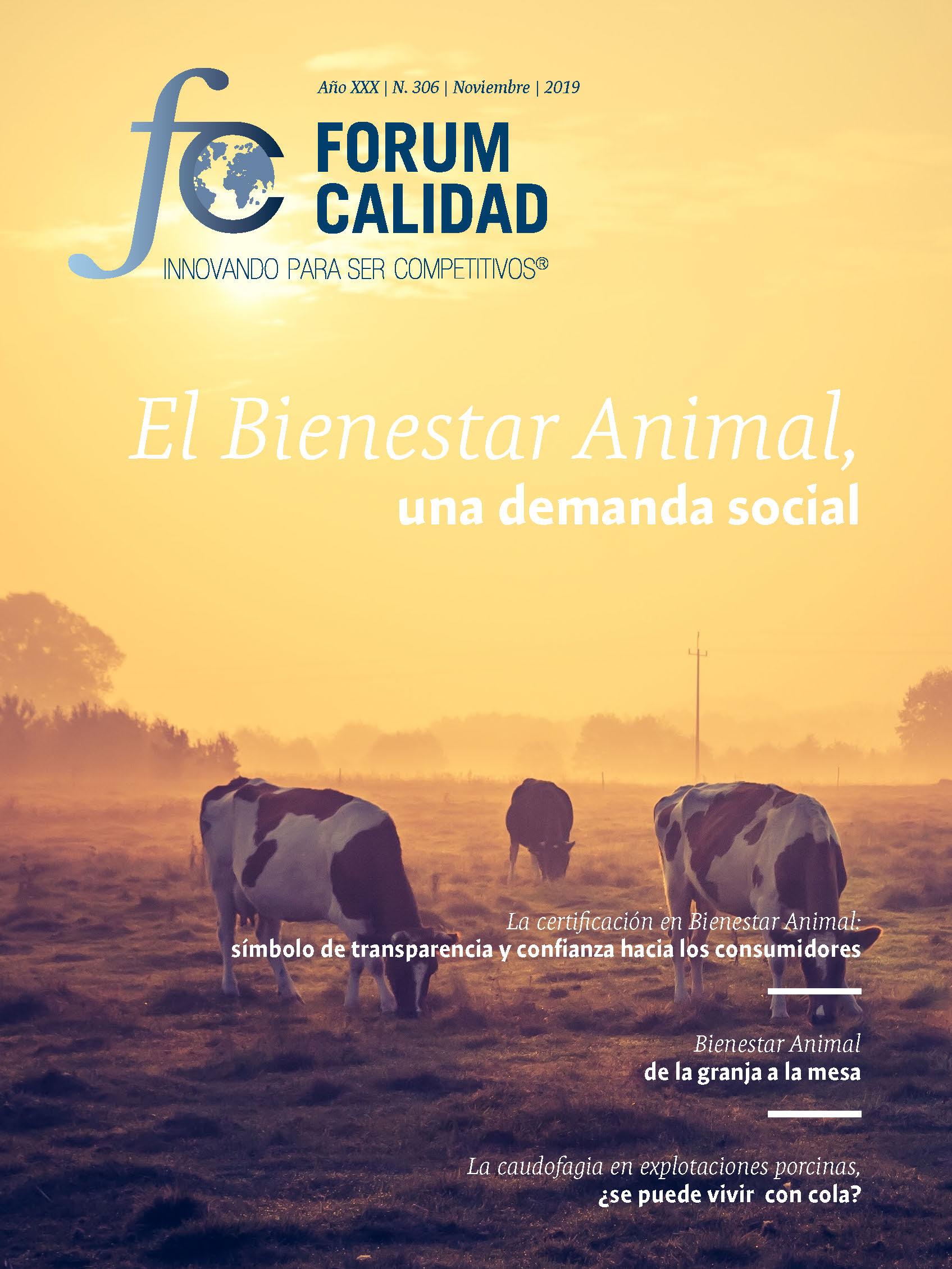 Forum Calidad nº 306 Noviembre 2019