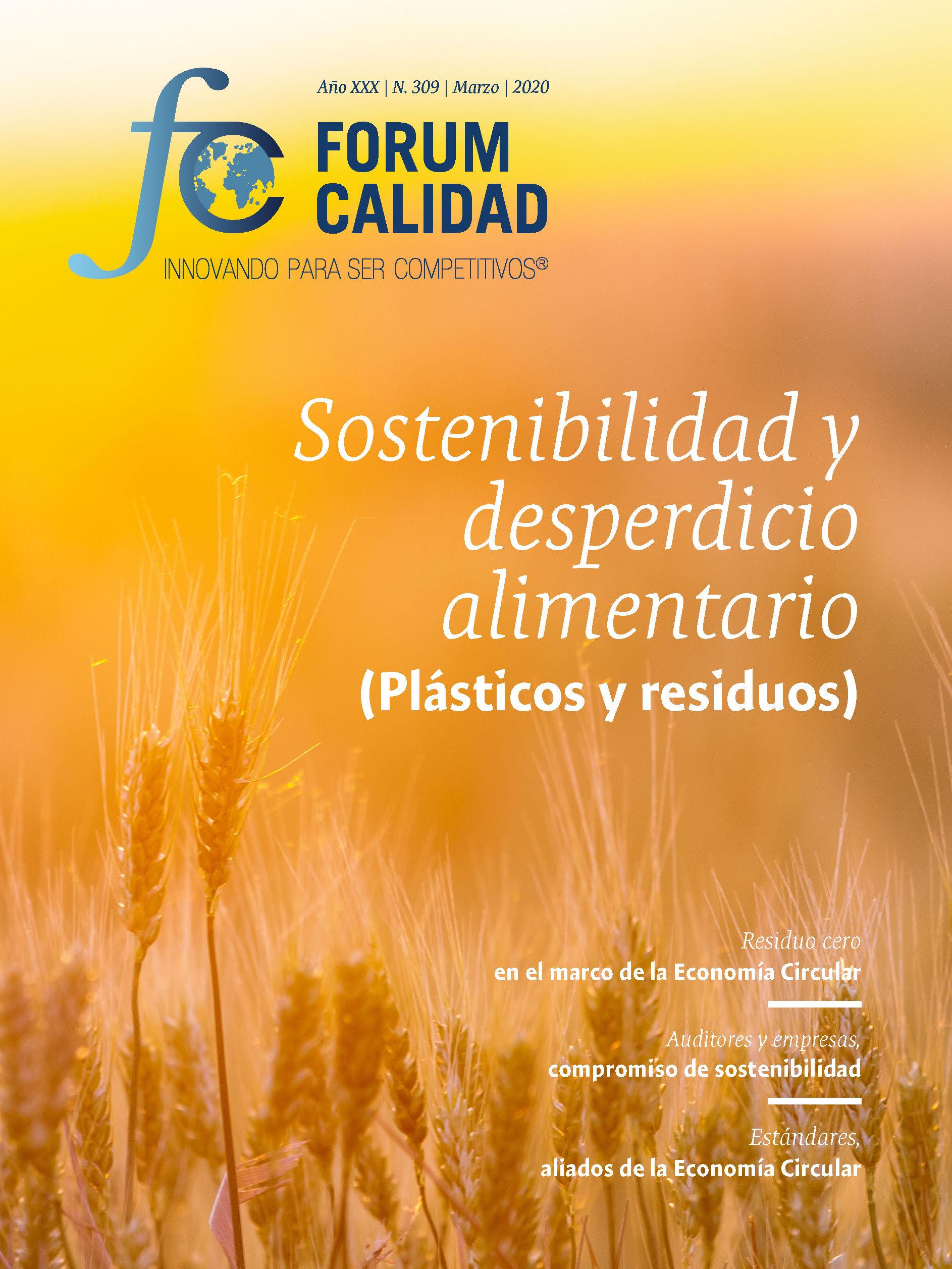 Forum Calidad nº 309 Marzo 2020