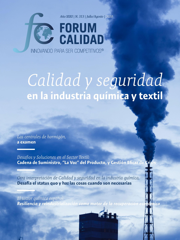 Forum Calidad nº 313 Julio/Agosto 2020