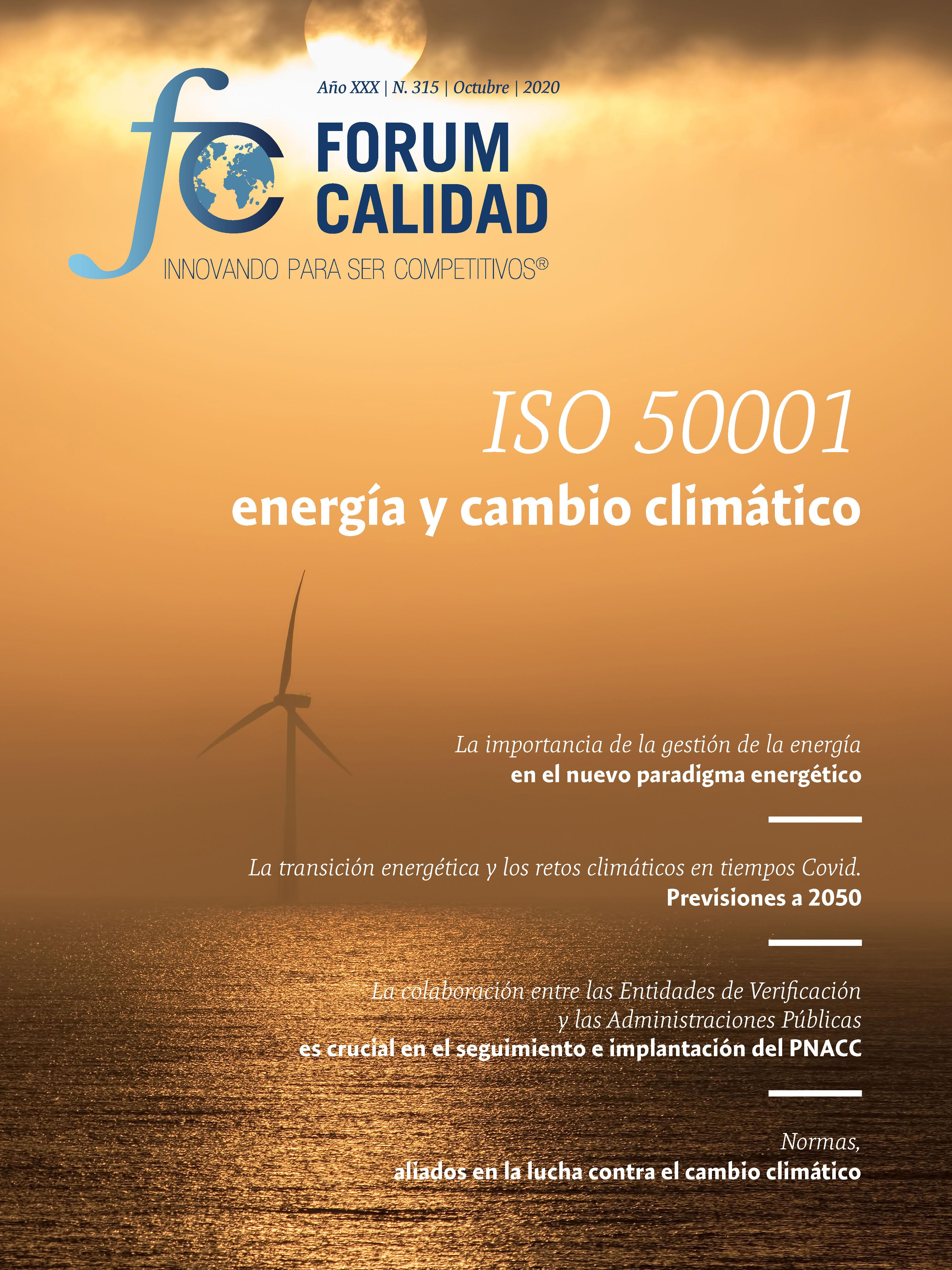 Forum Calidad nº 315 Octubre 2020