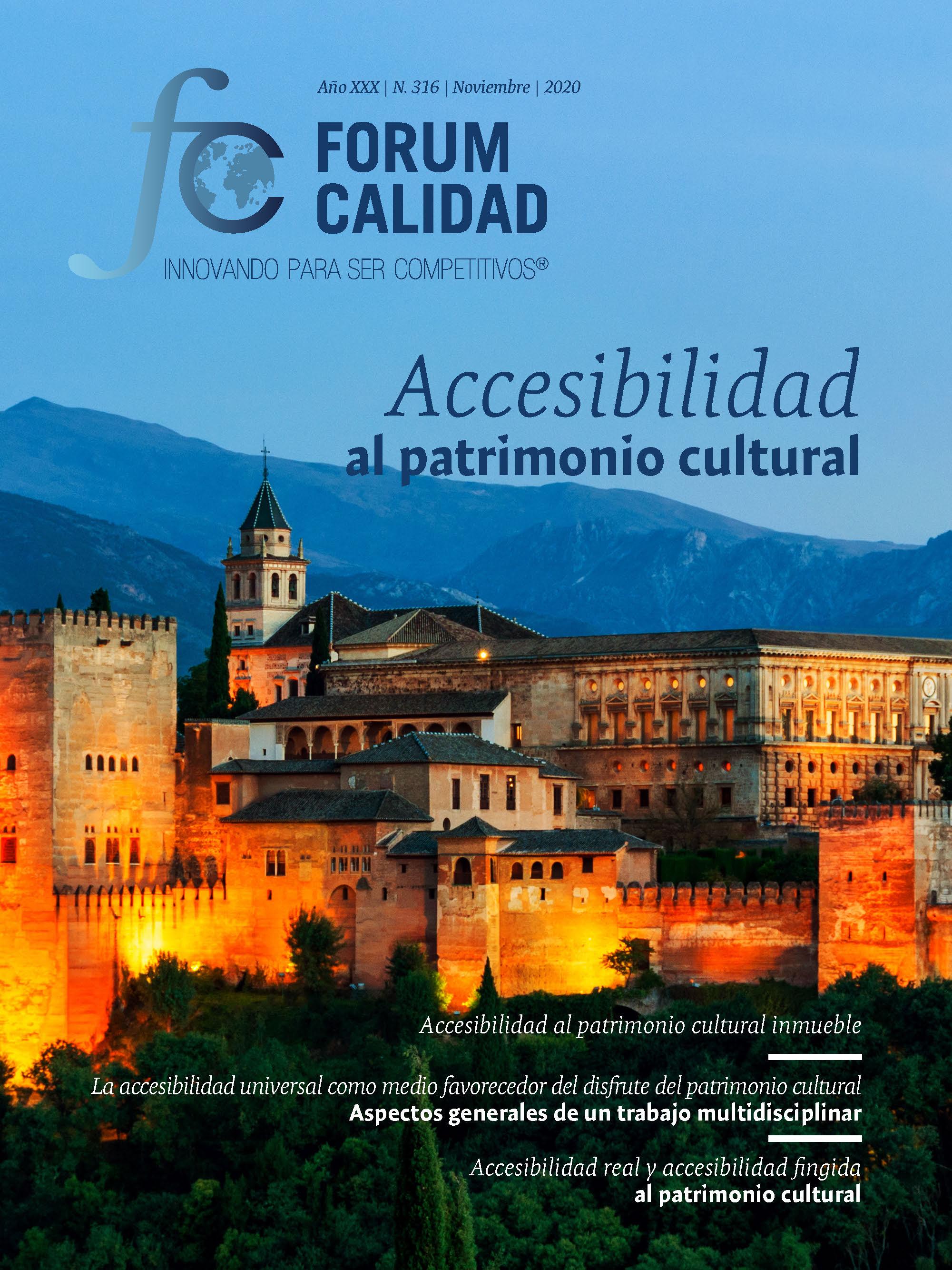 Forum Calidad nº 316 Noviembre 2020