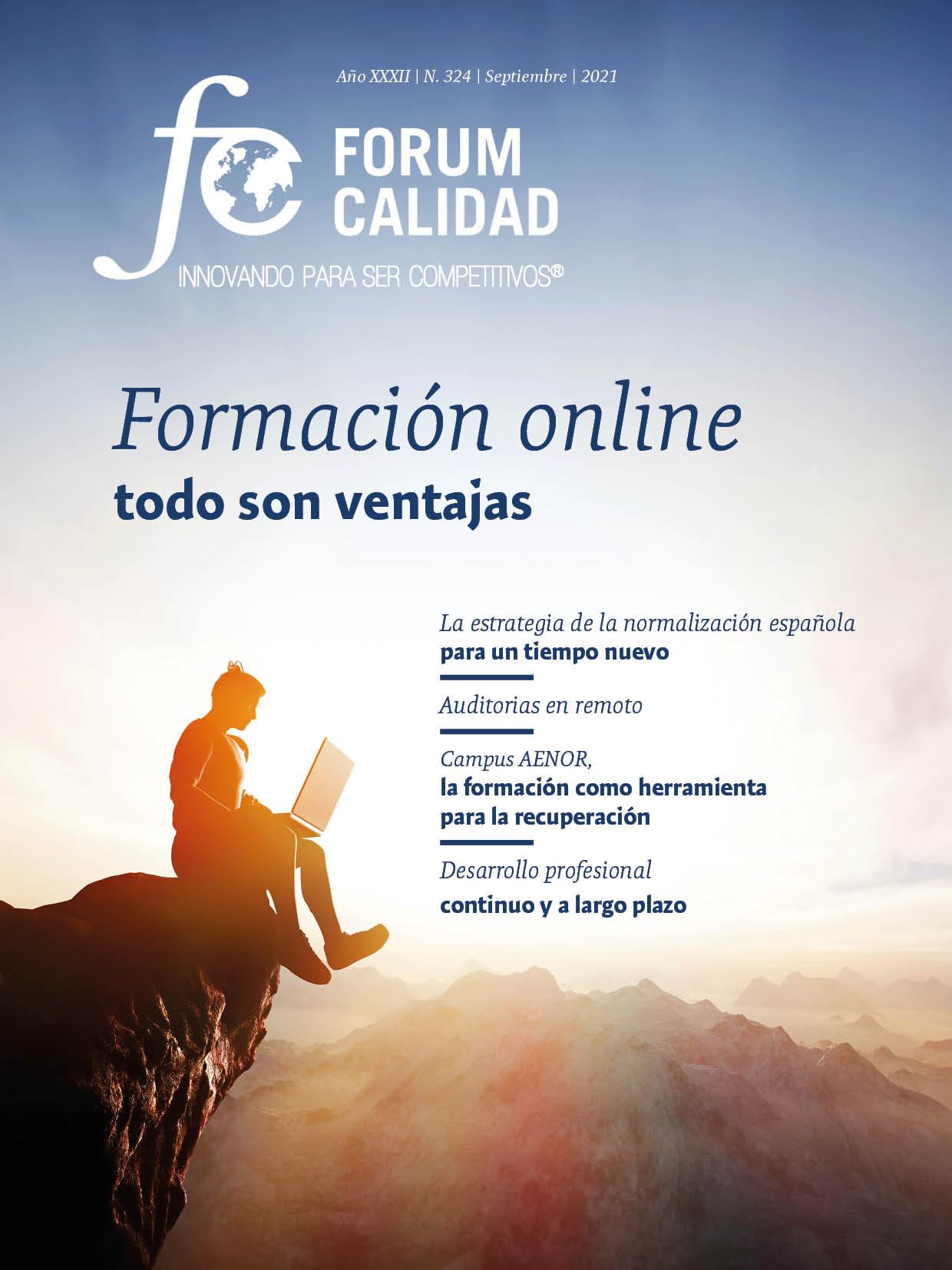 Forum Calidad nº 324 Septiembre 2021